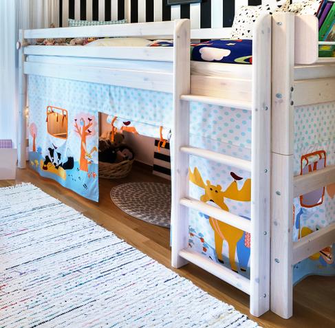 Rideau de lit pour enfant | fille et garçon | rideau pour lit cabane ...