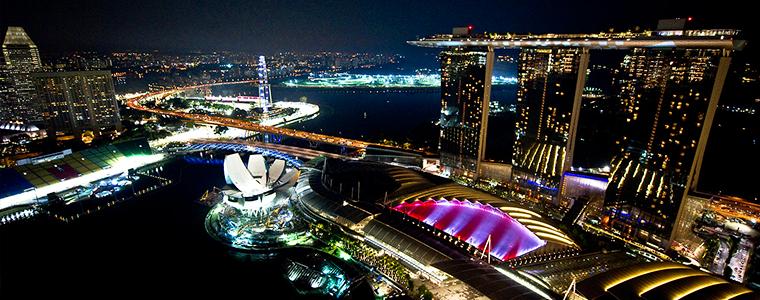 Circuito F1 Singapur : Retransmisión de los terceros libres del gran premio de singapur