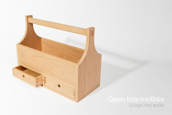 Simple Wood Tool Box Plan Easy Woodworking Projects Pinterest