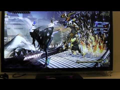 Bayonetta 2, Wii U Gameplay [gamescom 2013]
