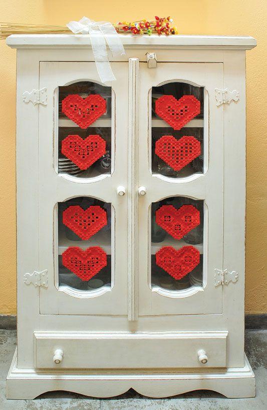 Corações encantados / DIY, craft