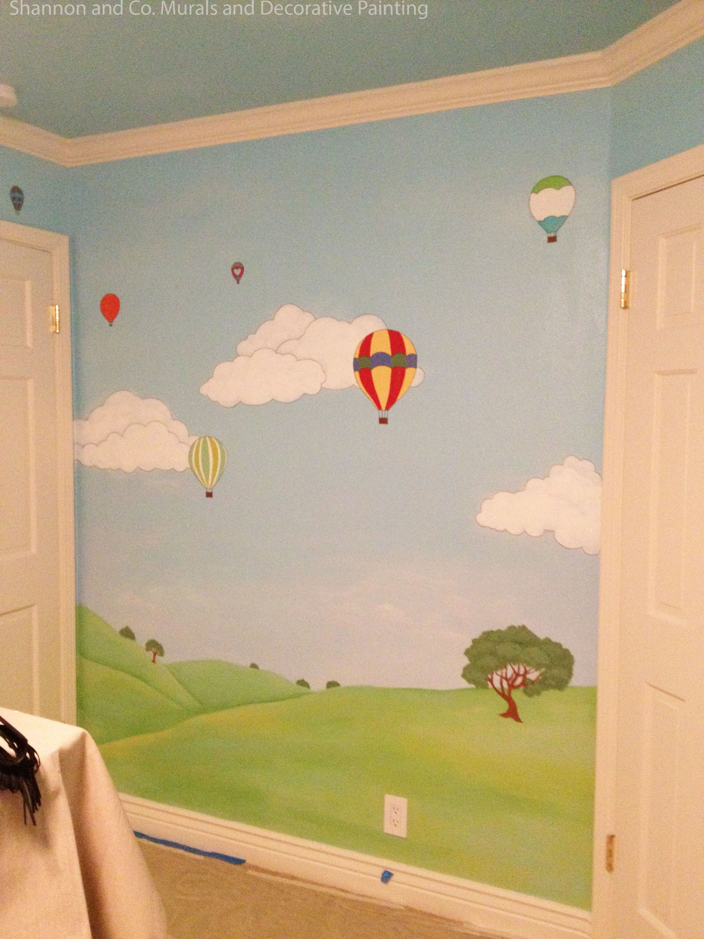 Happy Day Nursery Mural By Shannon Geis