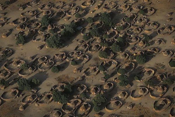 Village near Lake Chad.