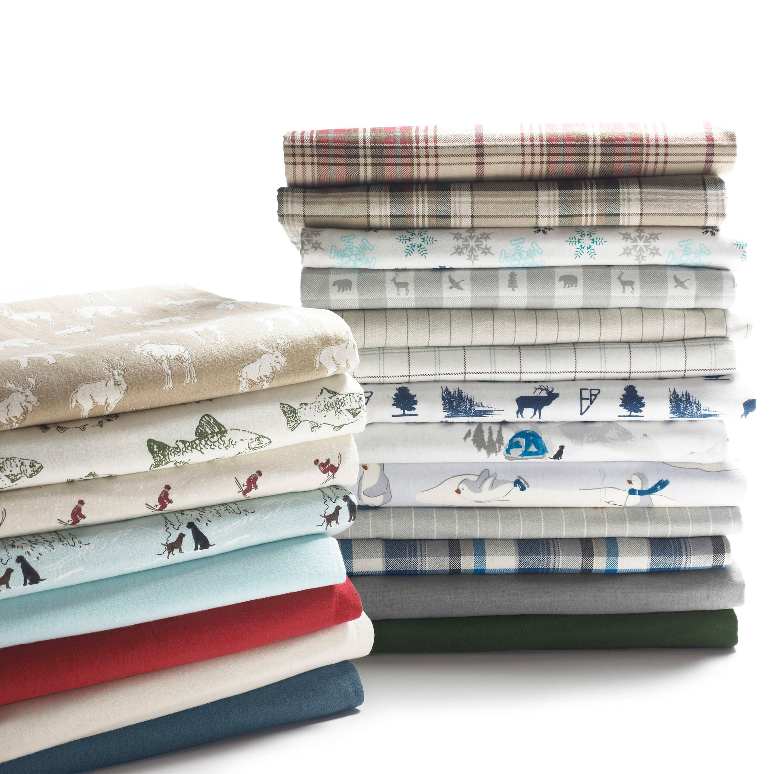 Eddie Bauer Cotton Flannel Bed Sheet Sets Flannel Bed Sheets