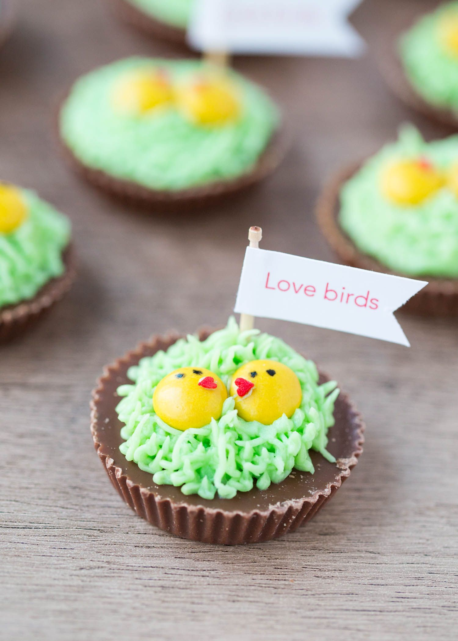 Chocolate Love Birds | Recipe | Easter recipes, Food, Desserts