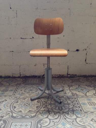 Chaise industrielle Bao d\u0027architecte aménagement intérieur Pinterest