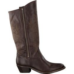 Catarina Martins Cowboystiefel Bendita Zip High Braun Damen Catarina MartinsCatarina Martins