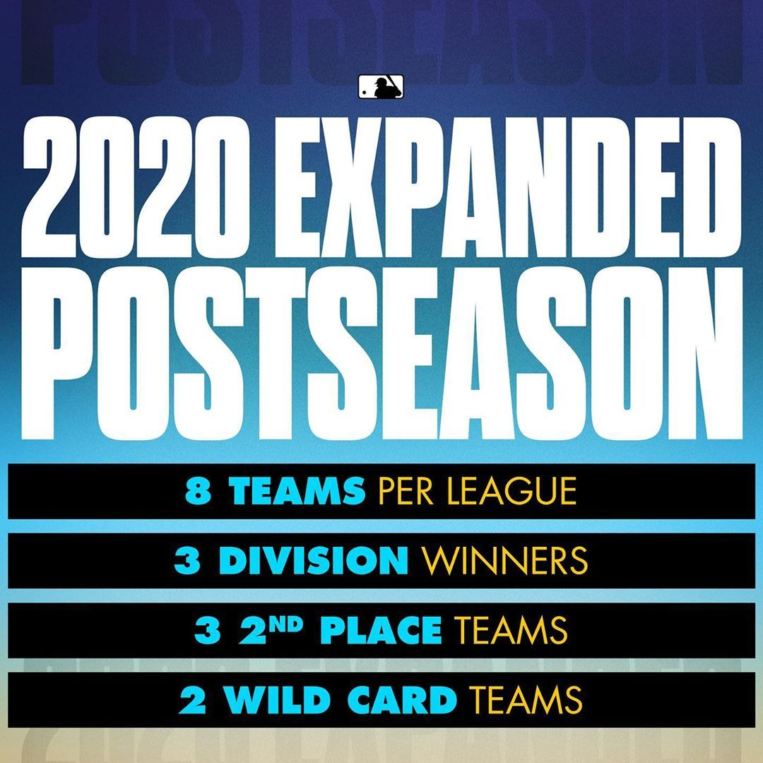 Mlb On Instagram Updated Information About The 2020 Postseason In 2020 Postseason Informative Mlb