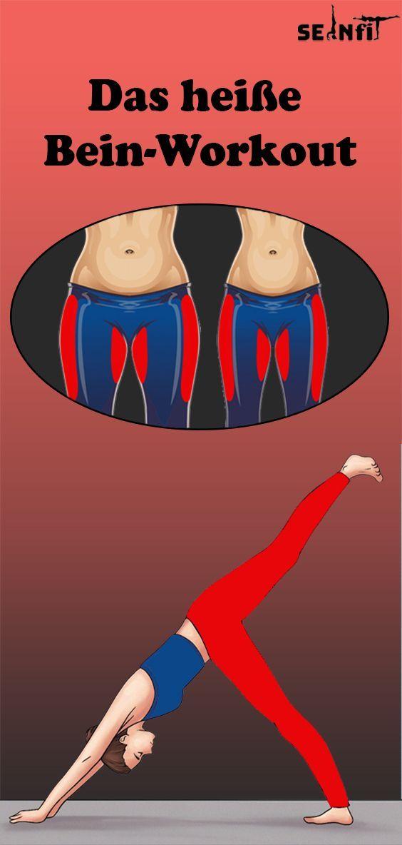 Das heiße Bein-Workout - Fitness und übungen - #BeinWorkout #Das #Fitness #heiße #Übungen #und