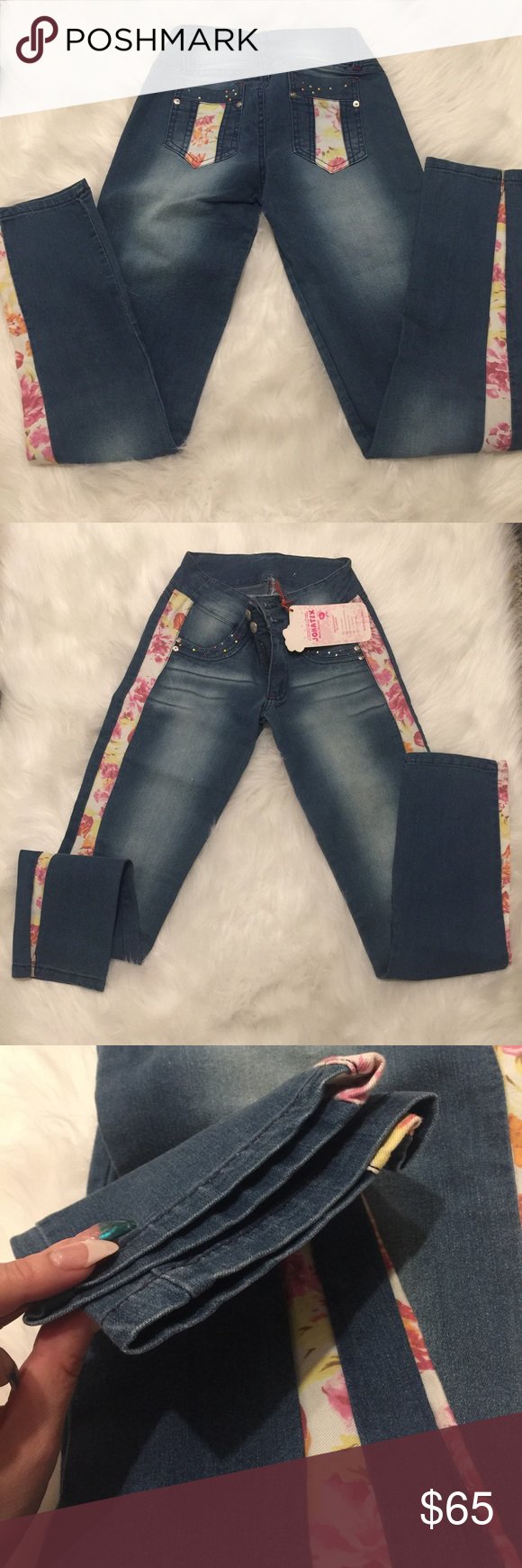 NWT Butt lift jeans💖 Colombian about live jeans brand-new with tags still attached 100% authentic you put them on a lift and shapes your booty two sizes up Jeans