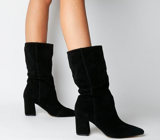 KARLOA Black Calf Boots from