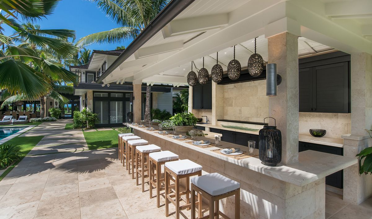 Outdoor bbq and bar ideas - House Of Paradise Outdoor Wet Bar