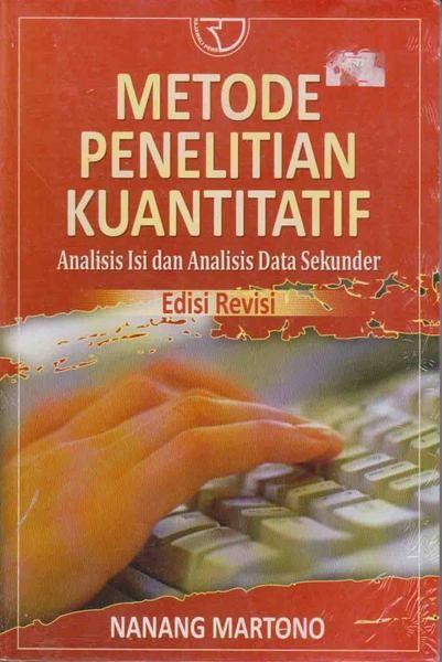 Jual Metode Penelitian Kuantitatif Analisis Isi Dan Analisis Data Sekunder Baru Berbagai Buku Menarik Lengkap Books Hand Soap Bottle Hand Soap