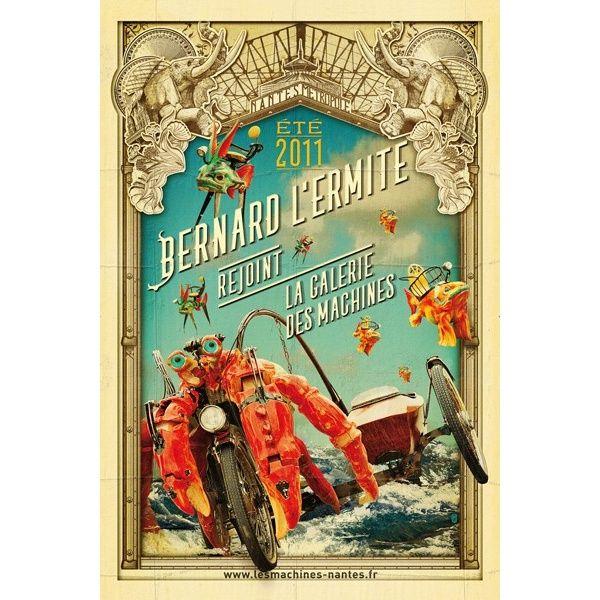 Hermit Crab Poster Boutique Des Machines De L Ile Disney Art Poster Design Poster