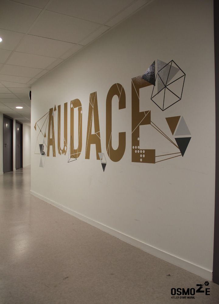 d coration murale signal tique ecole universite iscom