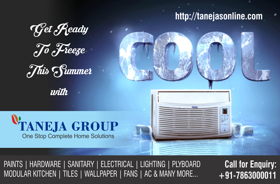 Freeze this summer, shop at Taneja Group, NOW at www