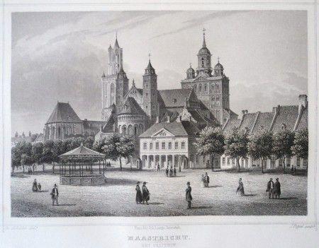 LIMBURG - Maastricht - Het Vrijthof. J.L. Terwen, 1858