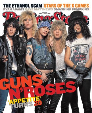 GNR. One of the best rock bands ever.
