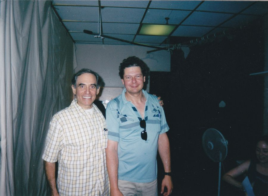 Samuel French Fest NYC. Playwright Norman Rhodes, director Andre Kirchner Dion
