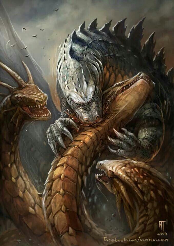 godzilla 2018 king ghidorah - 679×960