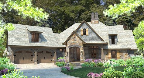 HERE LOOK HERE!!!  A charming entry porch leads to a wide open floor plan.  Dining and family spaces are vaulted on either side of a stone fireplace.