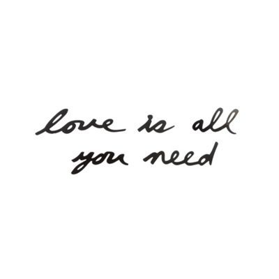 Metal Love Is All You Need Wall Art At Debenhams Com Words Quotes Words Quotes