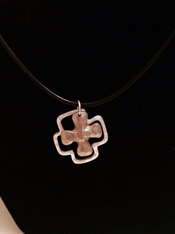 Cross Necklace by KelsysCharm on Etsy, $12.00