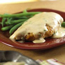 Paprika Chicken with Sour Cream Gravy