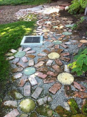 Photo of 56 Wonderful DIY Mosaic Garden Path Decorations For Your Inspiration