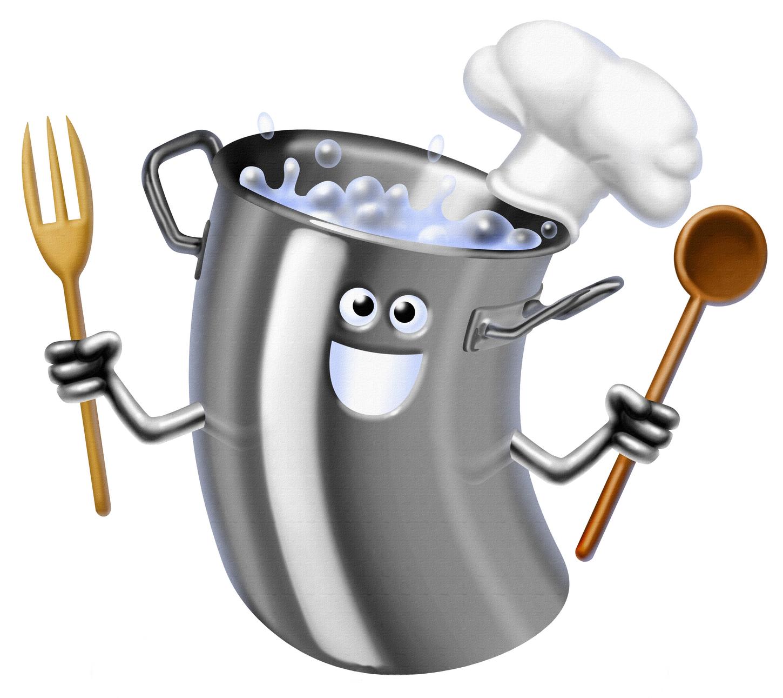 рисунок кастрюльки и поварешки пауэлл популярный актер
