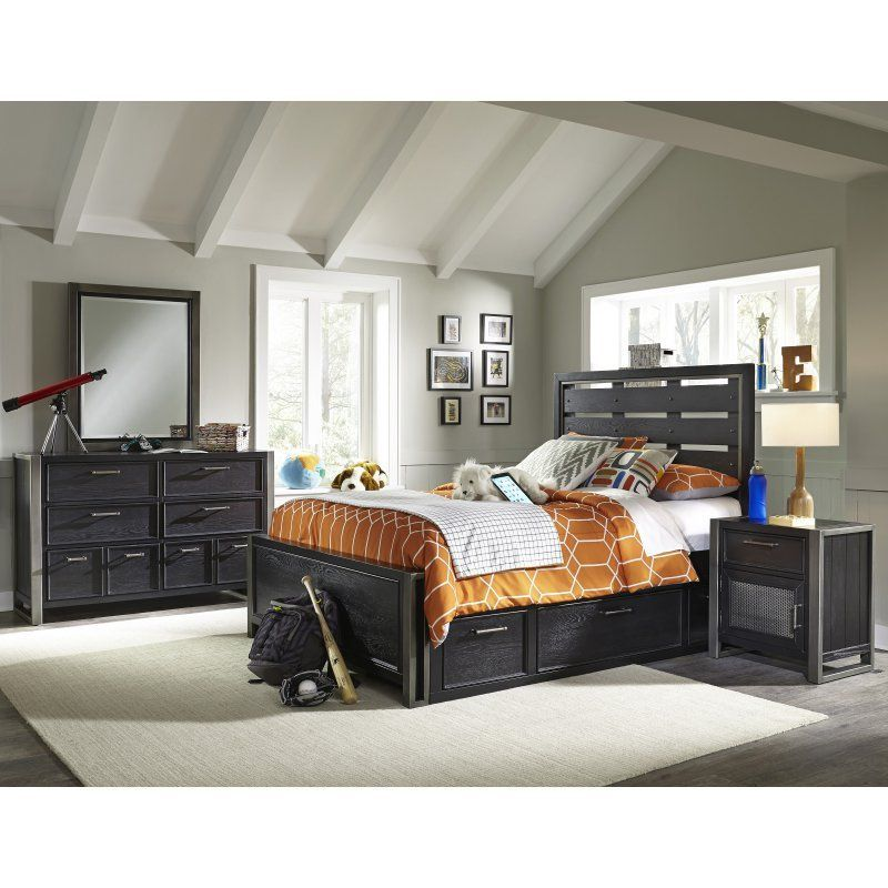 Samuel Lawrence Furniture Graphite Nightstand 8942 450 Products
