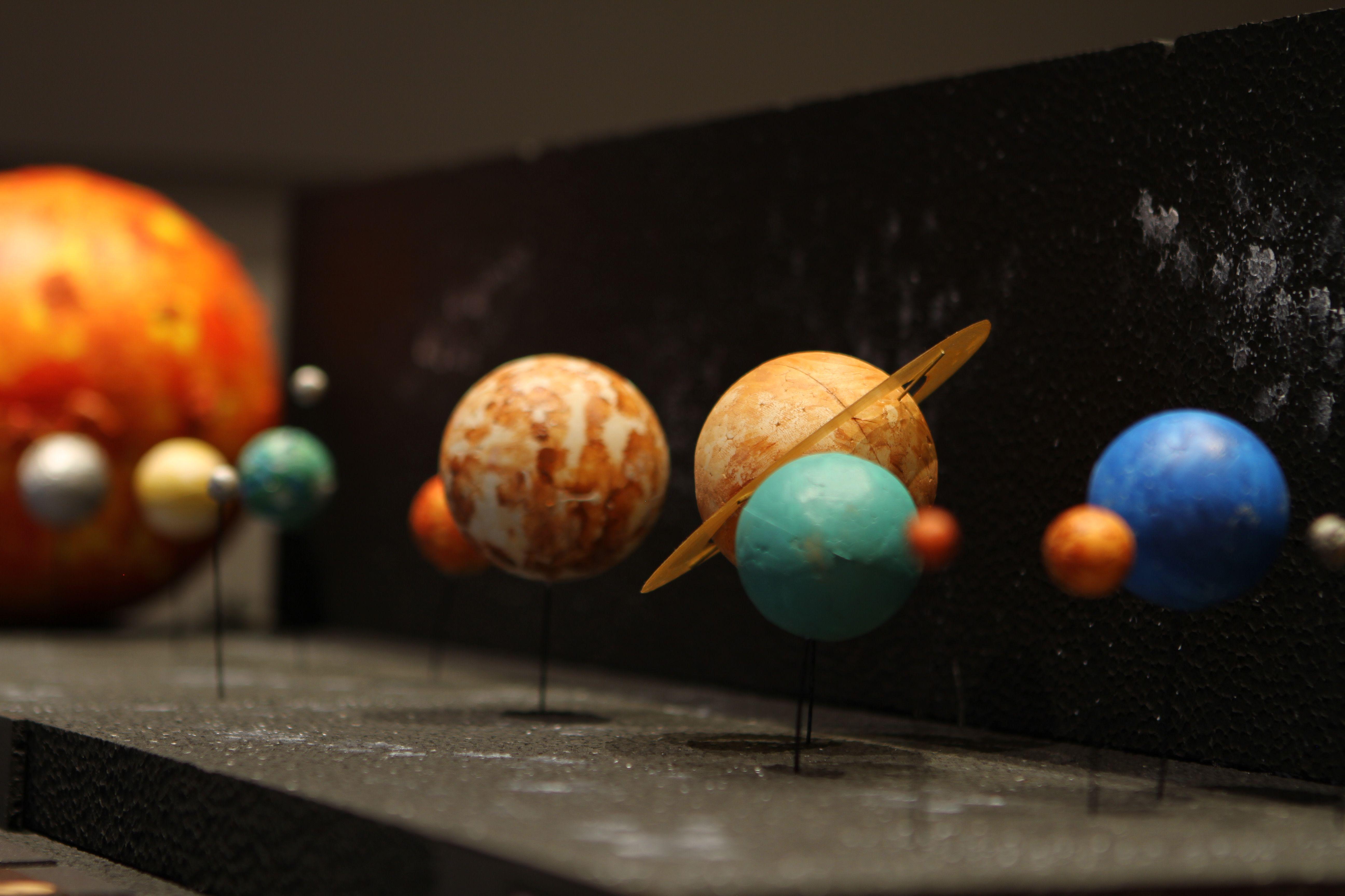 Sistema Solar Maquete Sistema Solar Planetas Solar System