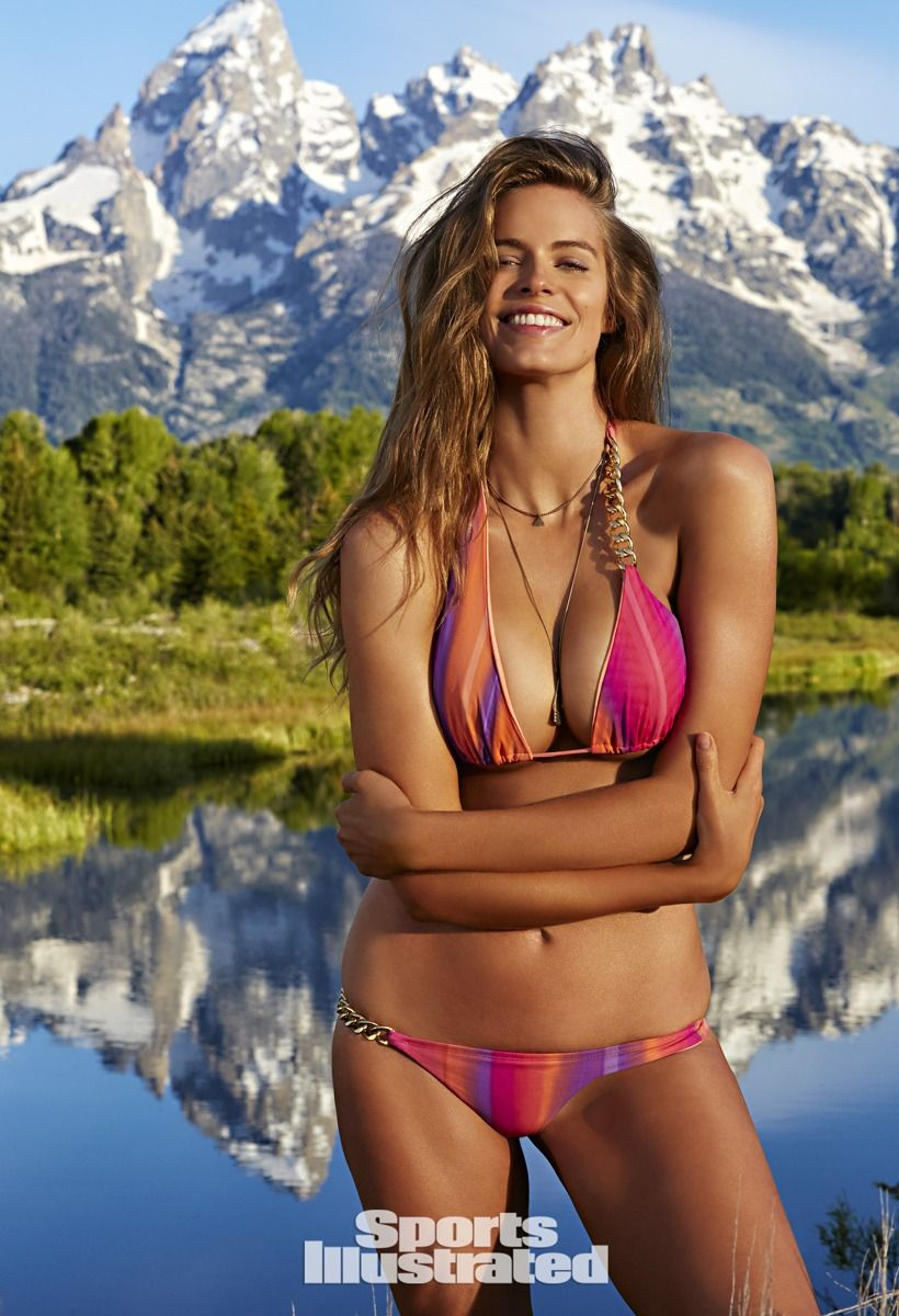 natural beauty story best moments: si swimsuit 2015 | laci