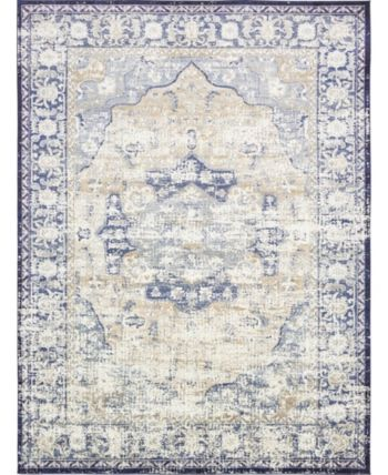 Bridgeport Home Ananta Ana4 Blue 9 X 12 Area Rug Reviews