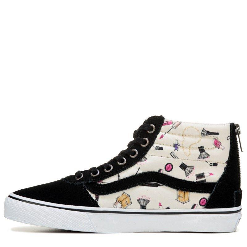 Vans Women's Milton High Top Sneakers (Black/Delicacy) - 11.0 M