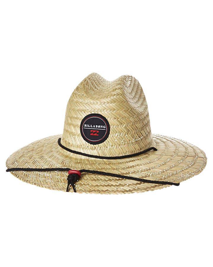 BILLABONG BAZZA STRAW HAT - RED  59f8e54f881
