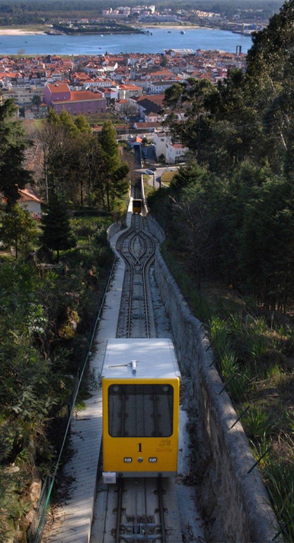 Viana do Castelo   Funicular Santa Luzia   Portugal  CITY OF MY HEART