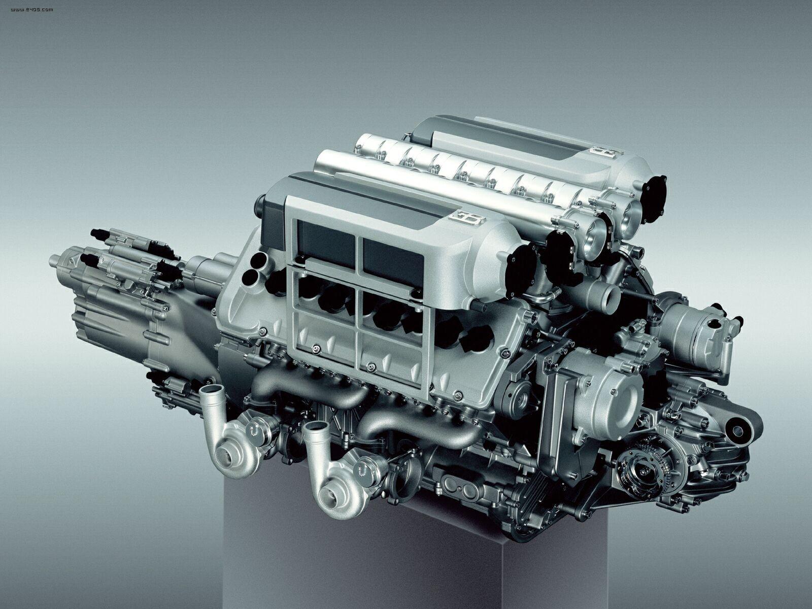 bugatti veyron engine [ 1600 x 1200 Pixel ]