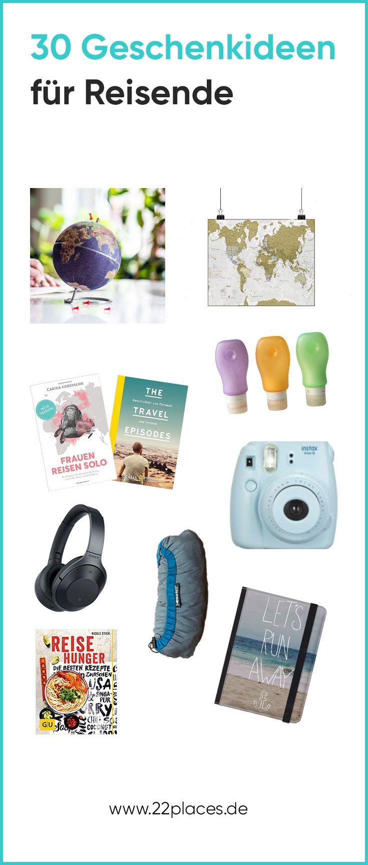 31 reise geschenke tolle geschenkideen f r reisende geschenkideen geschenke rund ums reisen. Black Bedroom Furniture Sets. Home Design Ideas