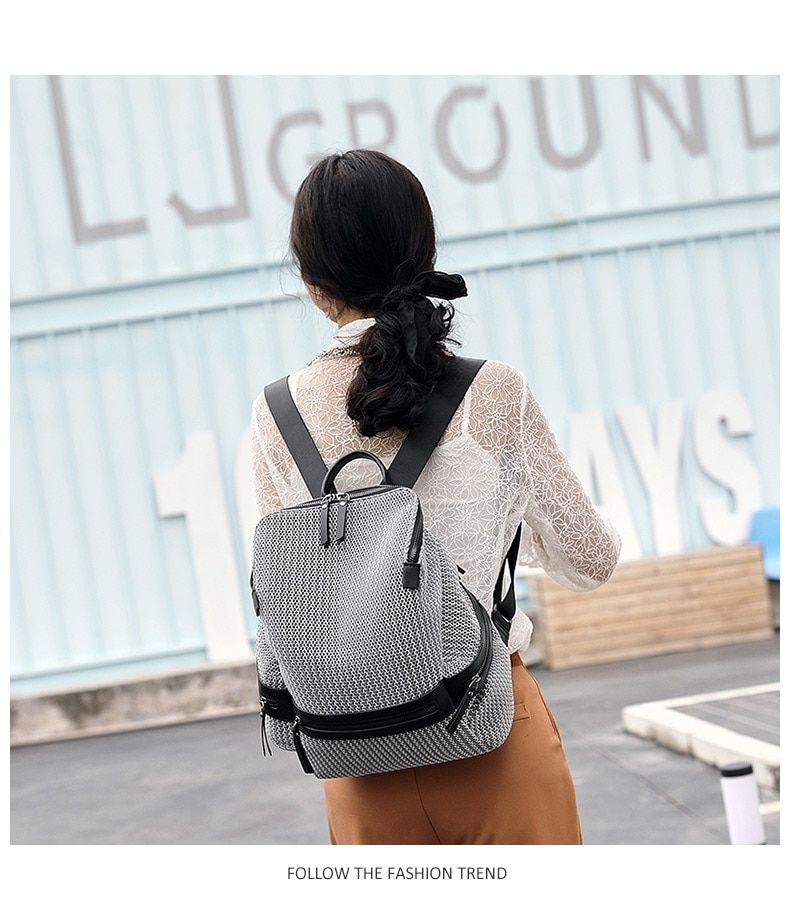 Photo of US $25.54 46% OFF|2020 Women's Nylon Backpack Casual Women Large Backpacks School Bags for Teenage Girls Female Lightweight Travel Rucksack XA250H|Backpacks|   – AliExpress