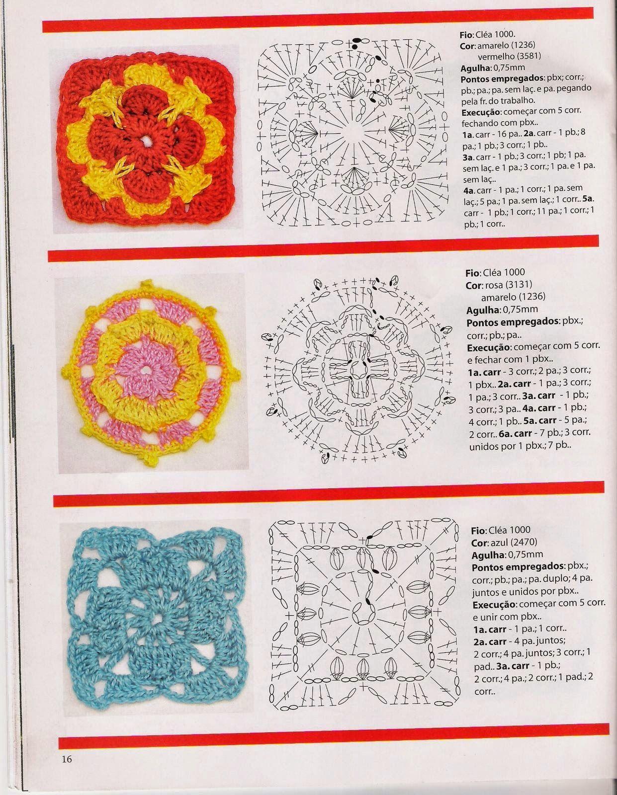 Flores en crochet paso a paso | Proyectos que debo intentar ...
