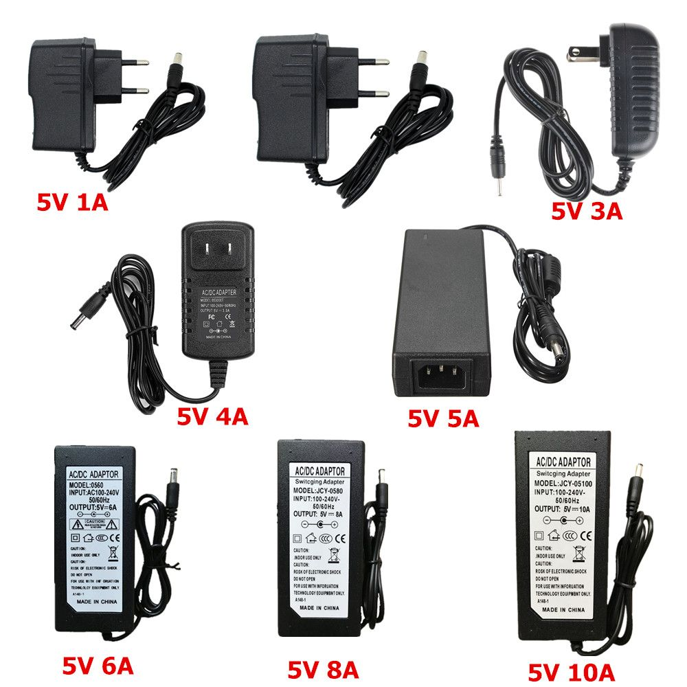 5v 24v 12v Lighting Transformer Ac 110v 220v To 12v Power Supply 1a 2a 3a 5a 6a 8a 10a Led Driver 10w 60w 100w 120w Led Drivers Light Accessories Power Supply