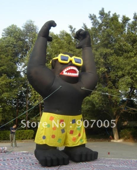 """1168.98$  Watch now - http://ali467.worldwells.pw/go.php?t=547618731 - """"DC05 Inflatable  Gorilla 1168.98$"""