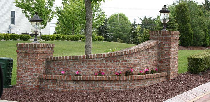 Image Result For Brick Piers Brick Brick Driveway Driveway Gate