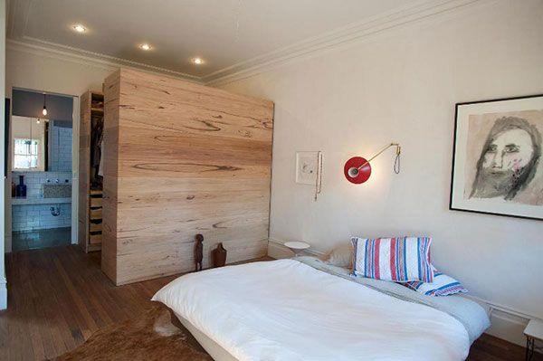 Inloopkast in grote slaapkamer uit Australië   Inrichting ...