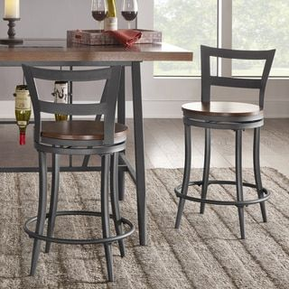 Shop For Thompson Counter Height Swivel Stools Set Of 2