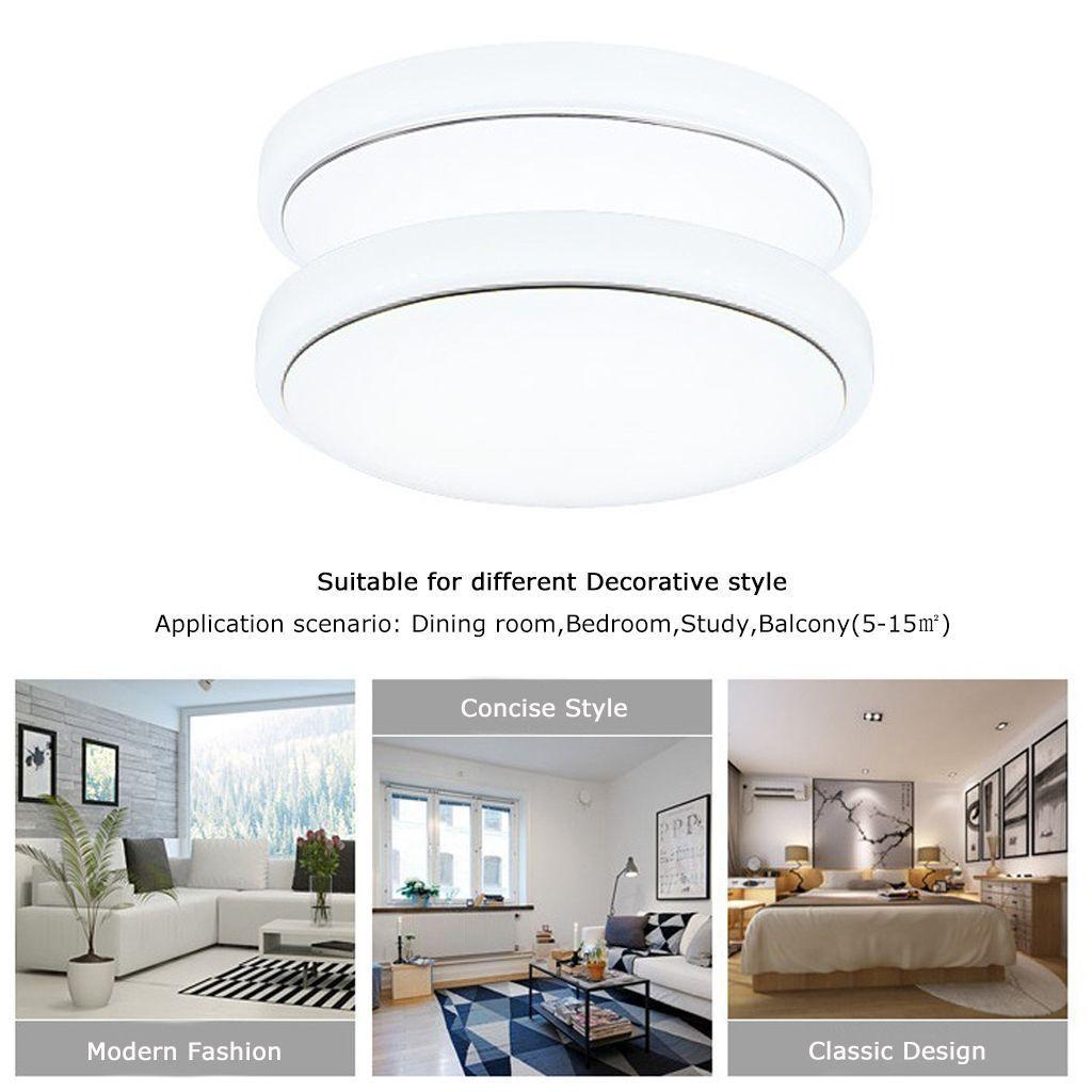 Modern Bedroom 18w Led Ceiling Light Pendant Lamp Flush 18w