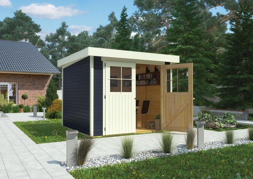 gartenhaus karibu flachdach my blog. Black Bedroom Furniture Sets. Home Design Ideas