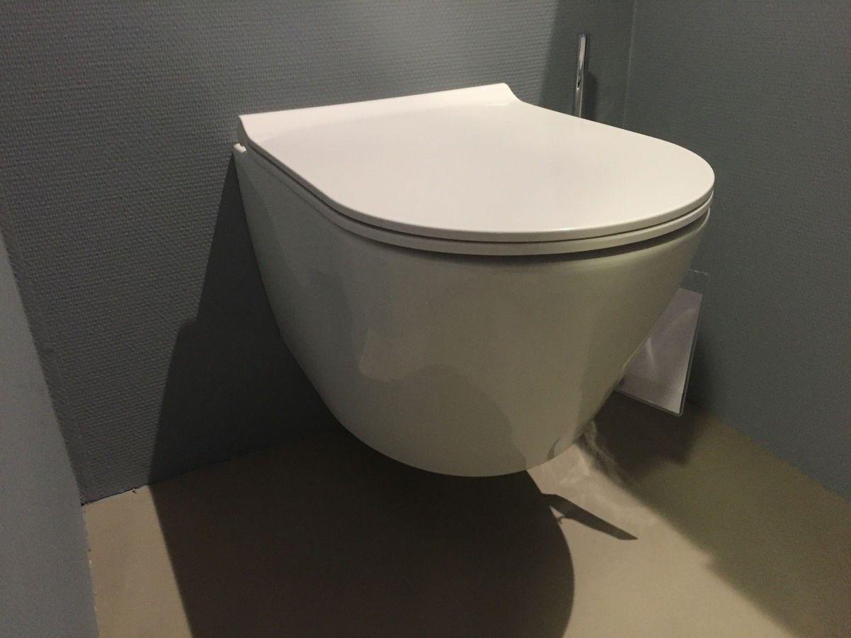 Achterwand Hangend Toilet : Toilet bewonen blinq fresno hangtoilet zonder spoelrand met