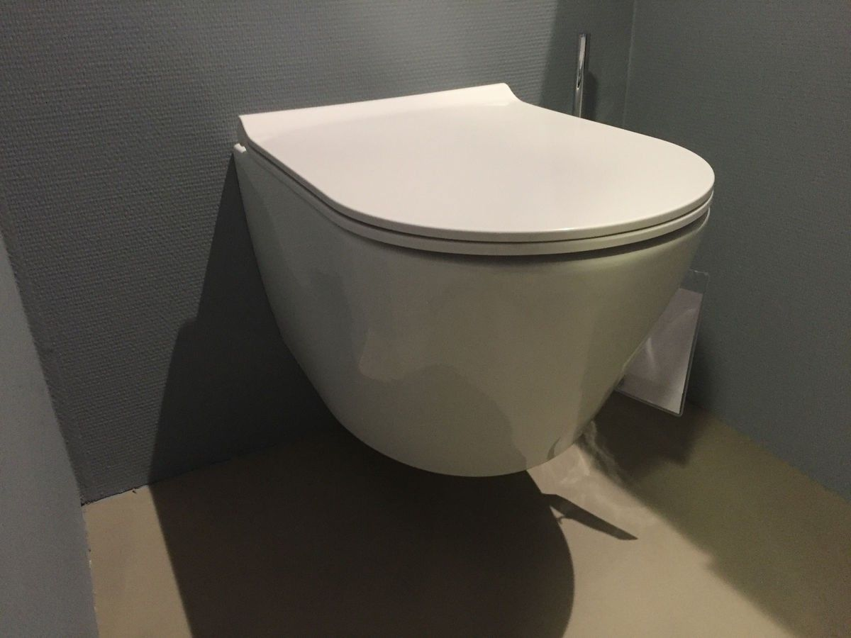 Toilet Zonder Spoelrand : Toilet bewonen blinq fresno hangtoilet zonder spoelrand met